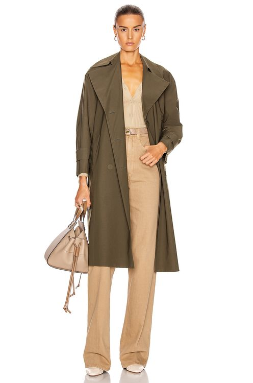 Harris Wharf London Oversized Trench Coat