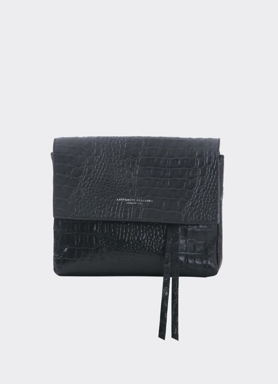 Aesthetic Pleasure MINI CASSELS CROC BLACK