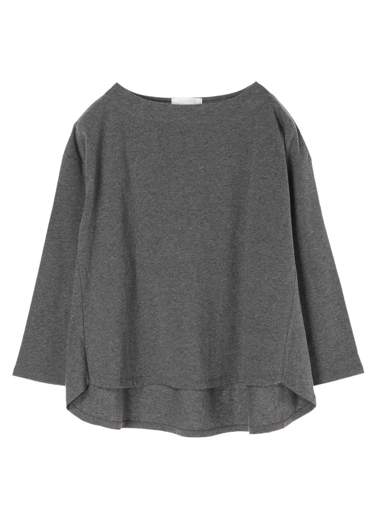 American Holic Rika Top - Charcoal Gray