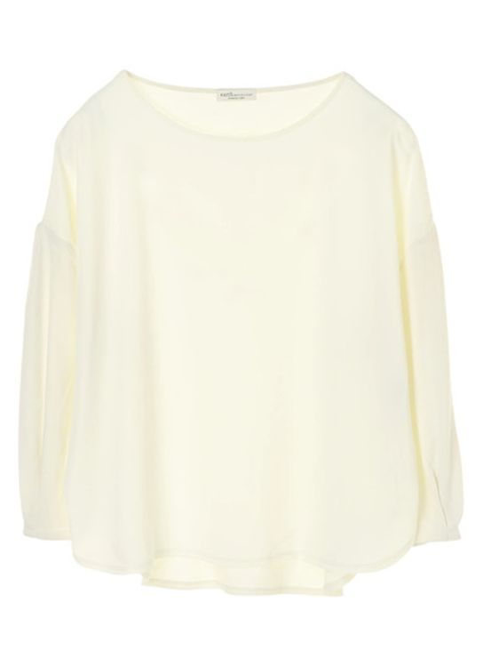 Earth, Music & Ecology Collins Top  - Ivory