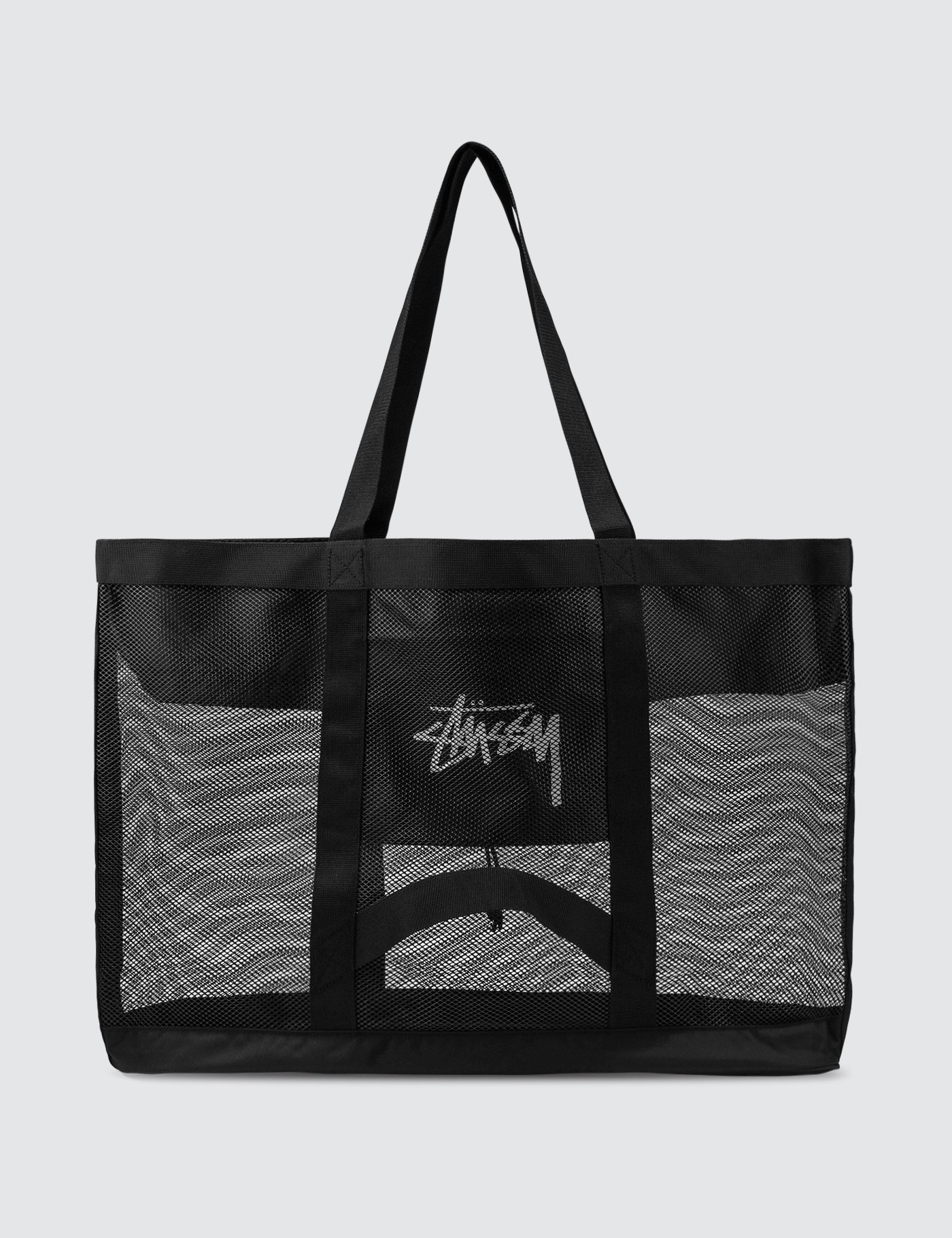 Stussy Mesh Beach Tote Bag