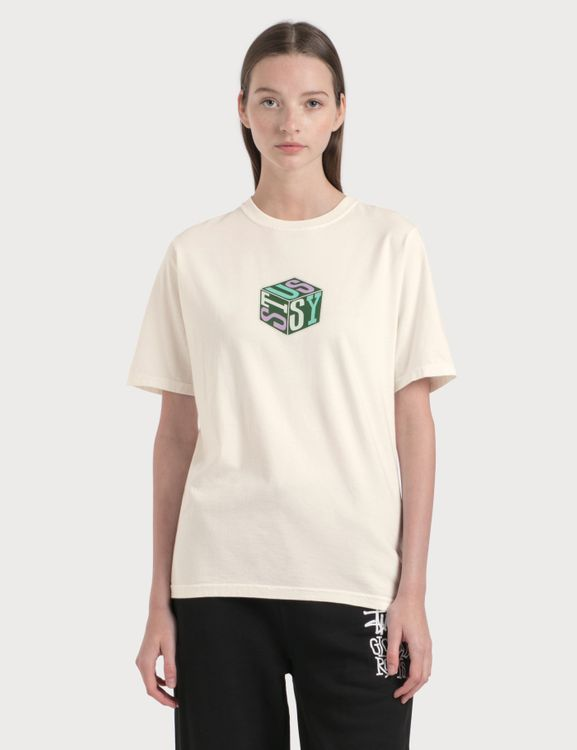 Stussy Cube Pigment Dyed T-Shirt