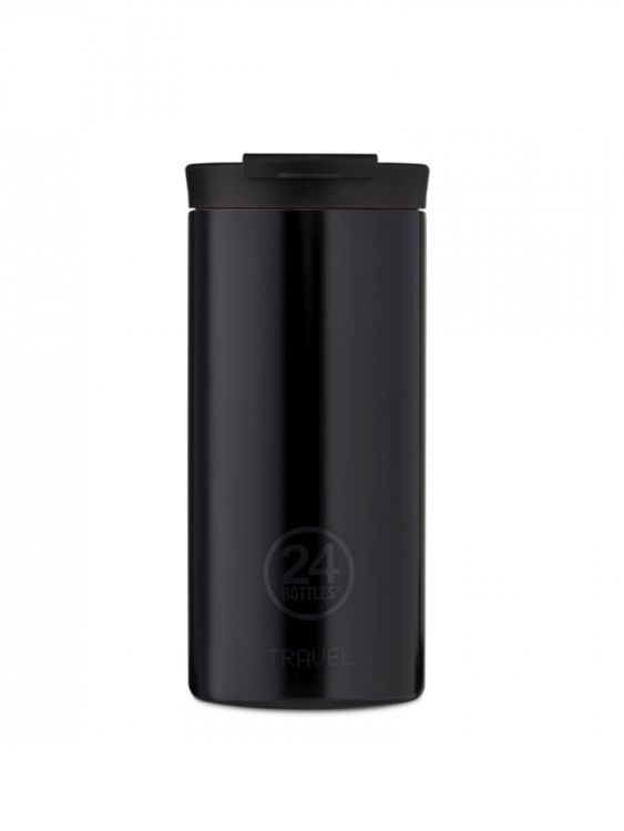 24Bottles 24Bottles Travel Tumbler Tuxedo Black 600ml