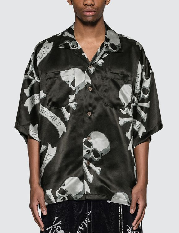 Mastermind World Skull Logo Vacation Shirt