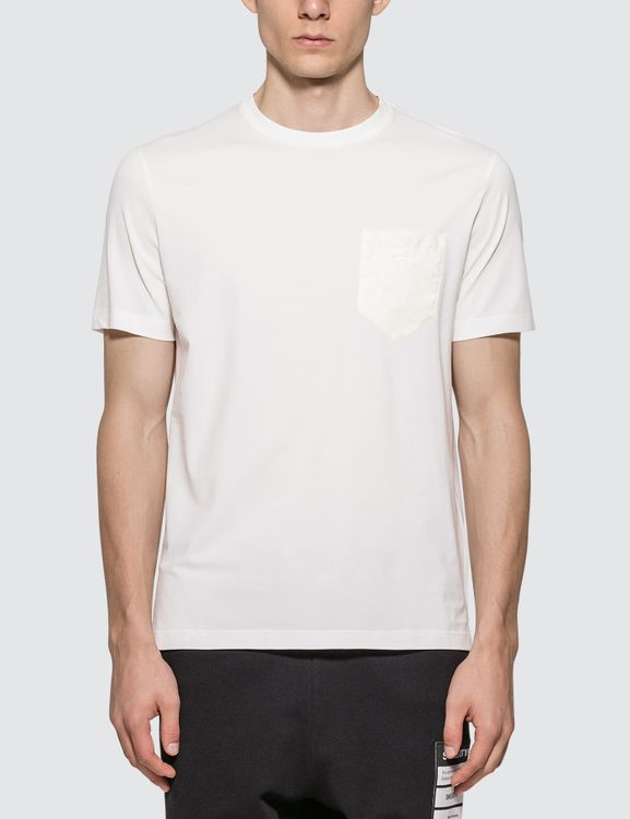 Prada Nylon Pocket T-Shirt