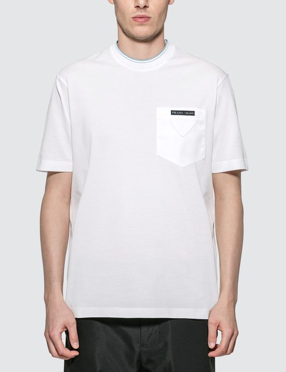 Prada Logo Pocket T-Shirt