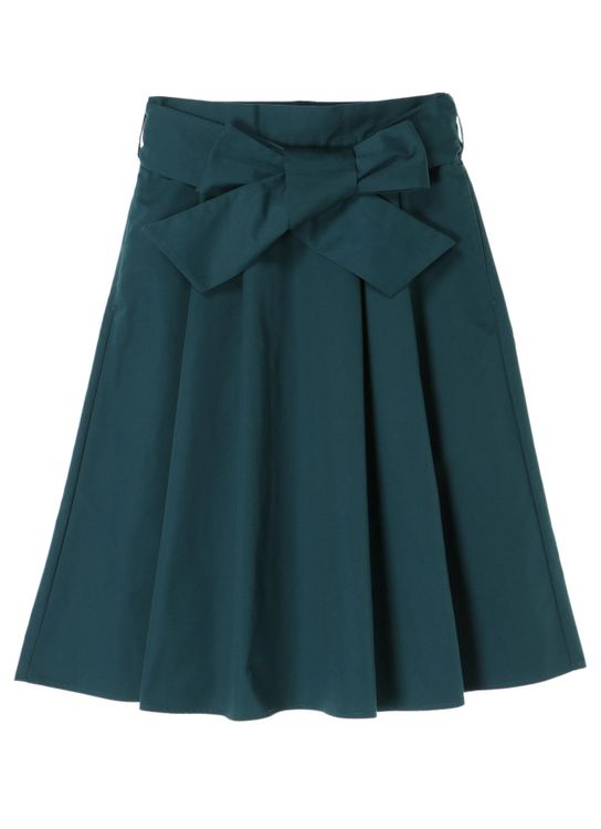 Earth, Music & Ecology Erika Skirt - Blue Green