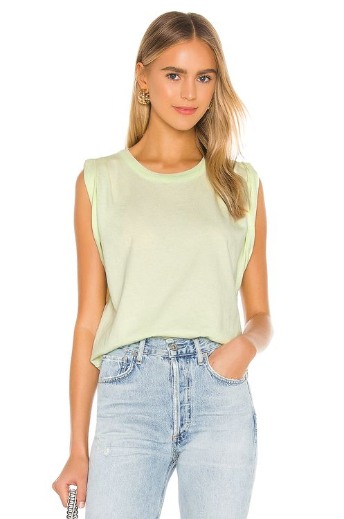 Citizens of Humanity Jordana Rolled Sleeve Tee