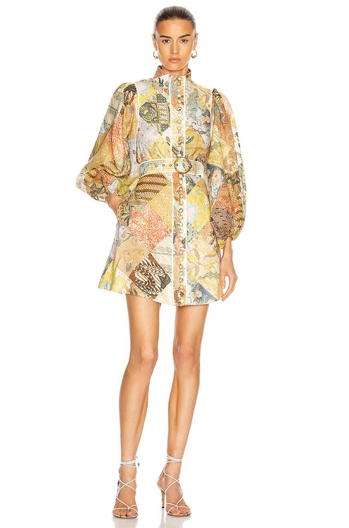 Zimmermann Brightside A-Line Mini Dress