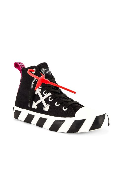 Off-White Mid Top Sneaker