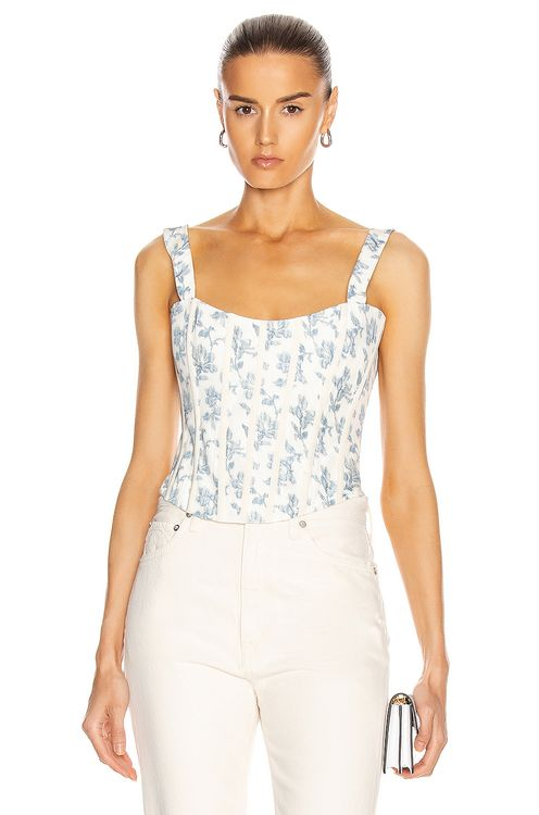 Brock Collection Quintet Floral Top