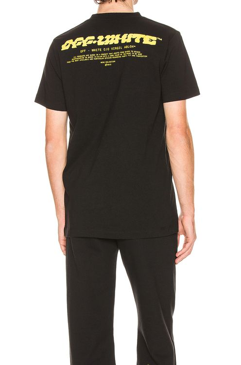 Off-White Disrupted Font Short Sleeve Tee