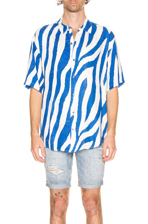 Ksubi Animal Short Sleeve Shirt