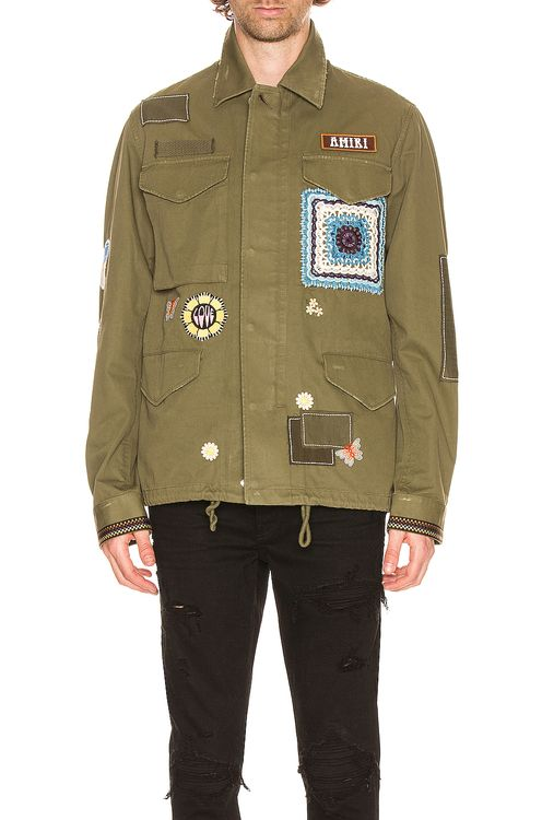 Amiri BROTHER Military Short Parka
