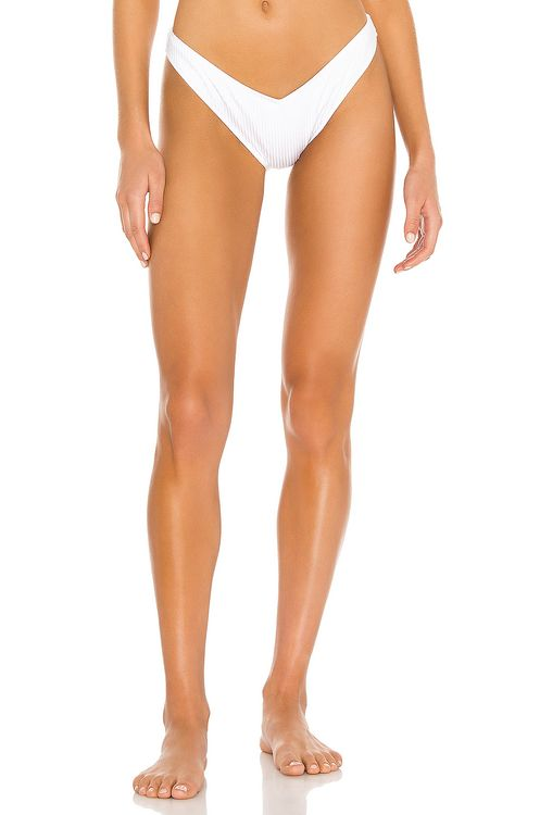 Tori Praver Swimwear Spencer High Leg Bikini Bottom
