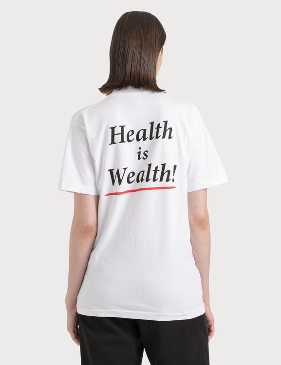 Sporty & Rich Health Is Wealth T-Shirt