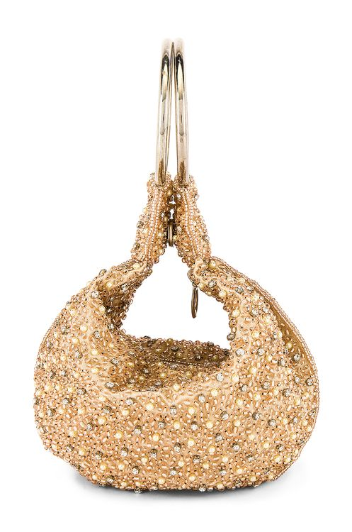 From St Xavier Mini Pearl Ring Bag