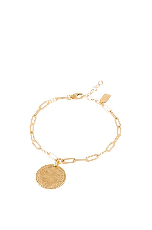Electric Picks Jewelry Havana Coin Bracelet