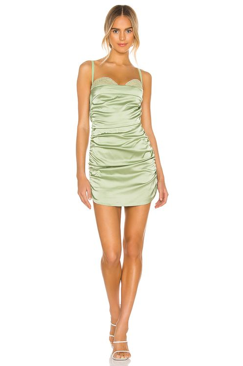 DANIELLE GUIZIO Ruched Dress