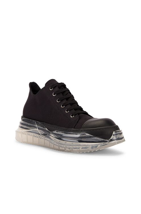 DRKSHDW by RICK OWENS Abstract Sneaker