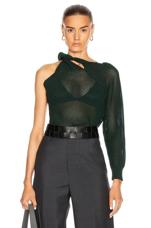 Givenchy Twisted Mesh Sweater