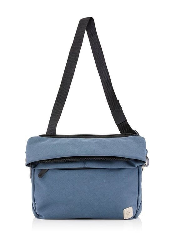 Crumpler Crumpler Mini Rocket Roll Top Messenger Blue Lead