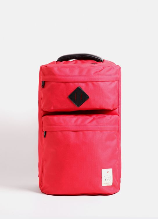 Taylor Fine Goods Backpack Traveling 425 Red