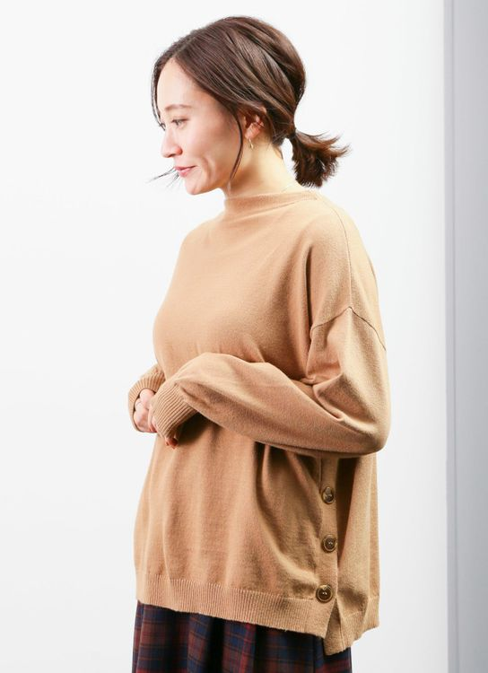 Earth, Music & Ecology Jinx Sweater - Camel