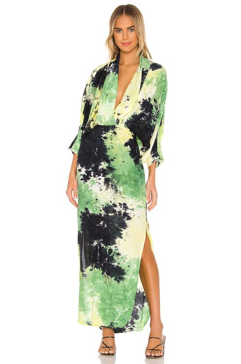 SWF Tie Dye Maxi Dress