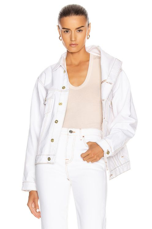 Y PROJECT Asymmetric Collar Jacket