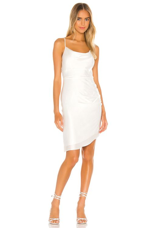 Milly Washed Silk Colby Dress