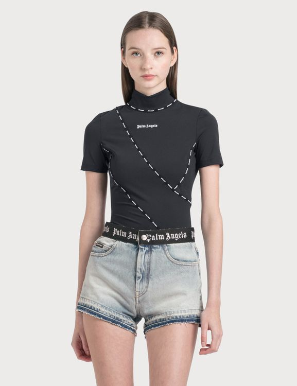 Palm Angels Techno Fabric Top