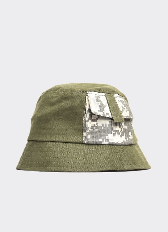 Jackhammer Co JACKHAMMER CO Pole Bucket Hat Olive