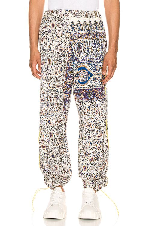 Paria Farzaneh Iranian Print Pleat Trouser