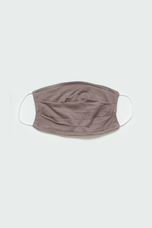 CLOTH INC Small Reuseable Face Mask in Dark Brown Set