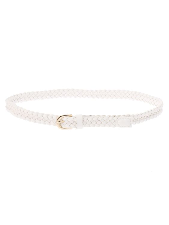 E-hyphen World Gallery Betty Belt - Off White