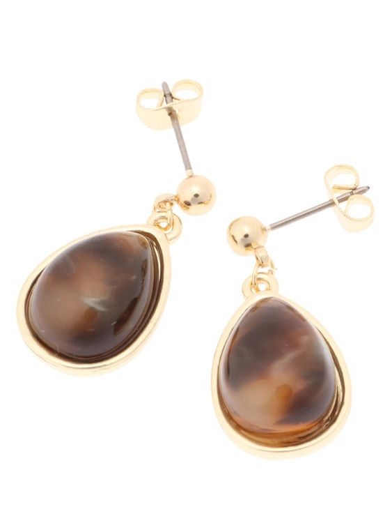 E-hyphen World Gallery Chelsy Earrings - Beige