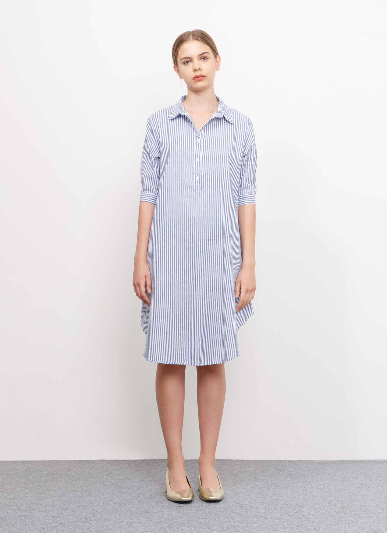 BOWN Ivelle Dress - Blue