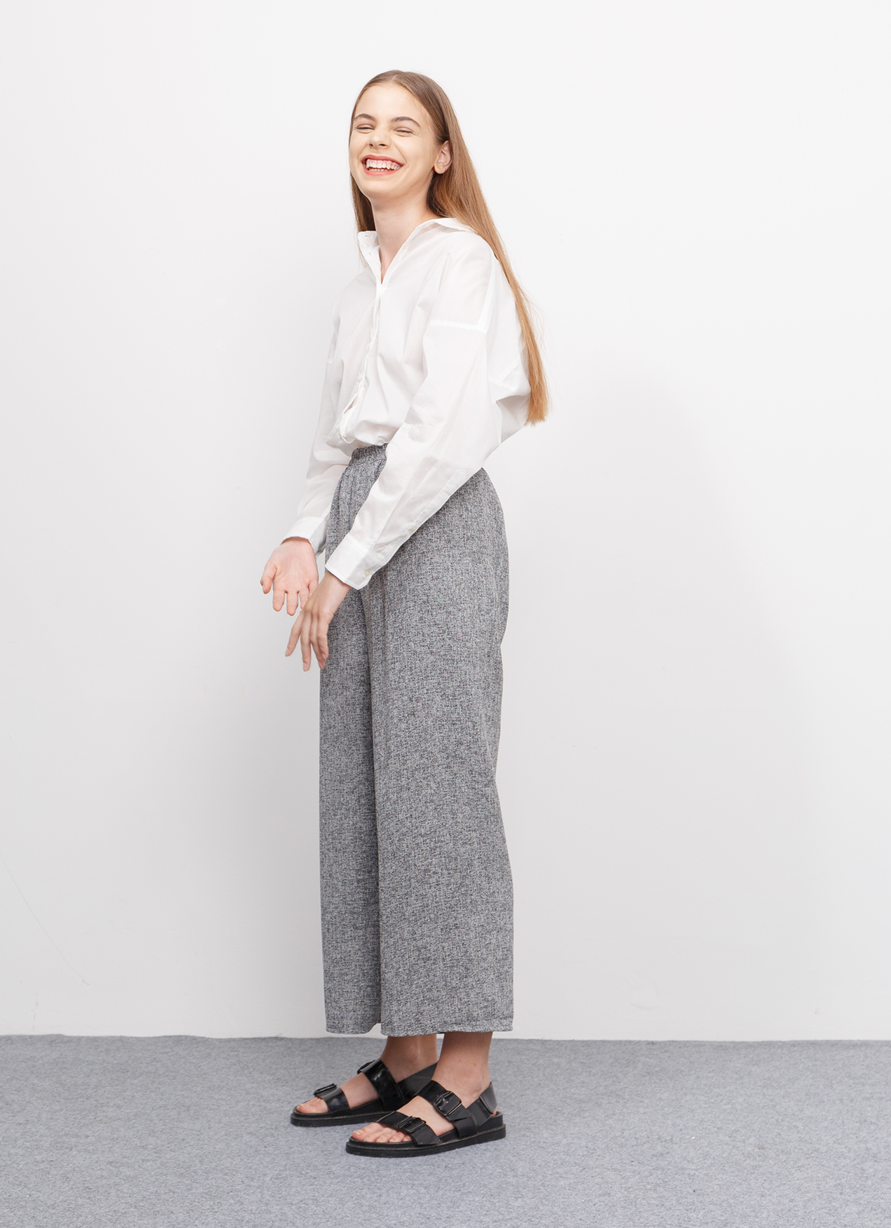 BOWN Pernelle Pants - Gray