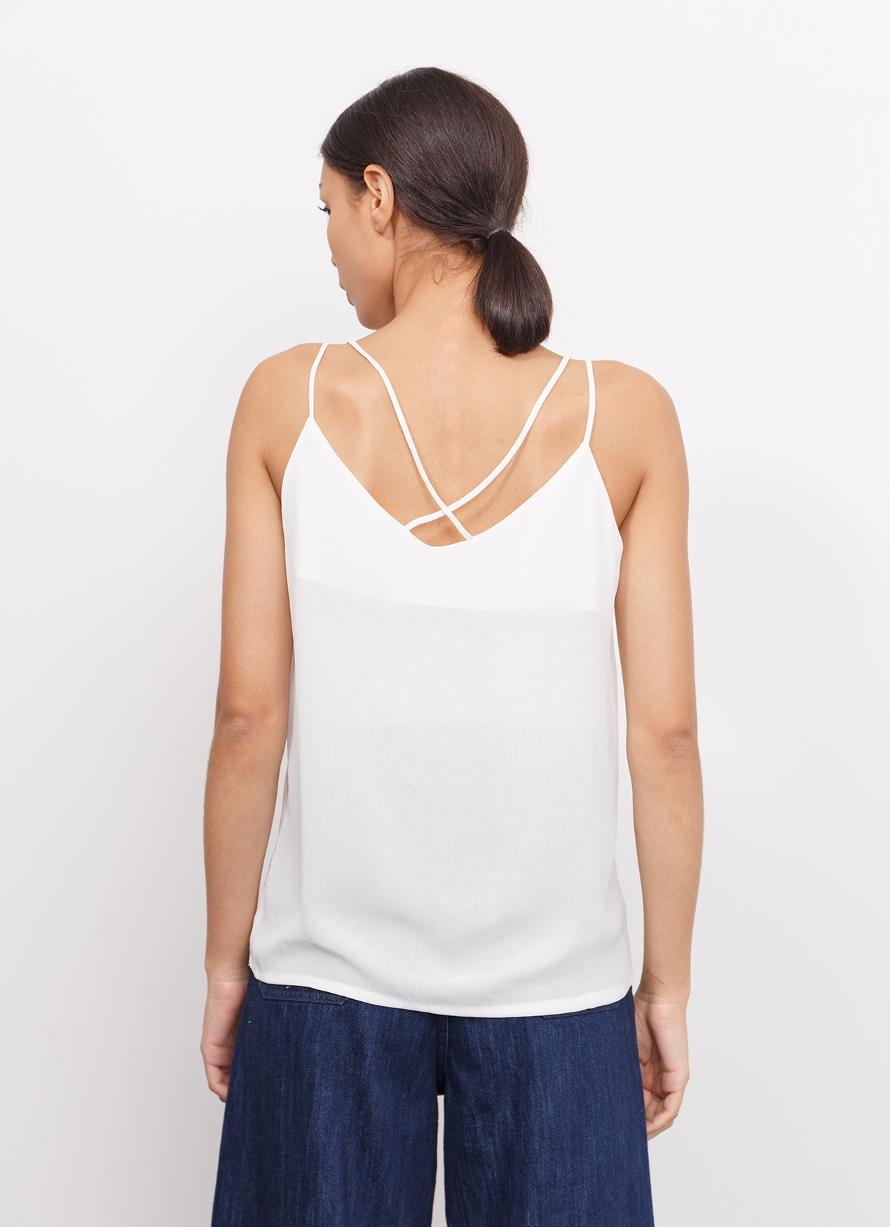 BOWN Freya Top - White