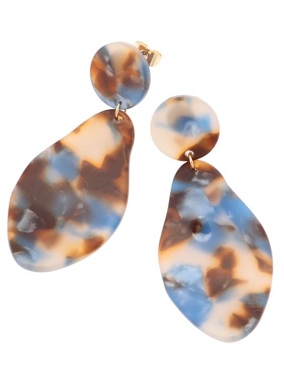 E-hyphen World Gallery Eloys Earrings - Brown