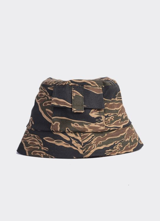 Jackhammer Co Pole Bucket Hat Tiger Camo