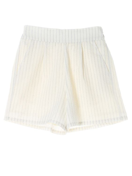 E-hyphen World Gallery Mame Shorts - Ivory
