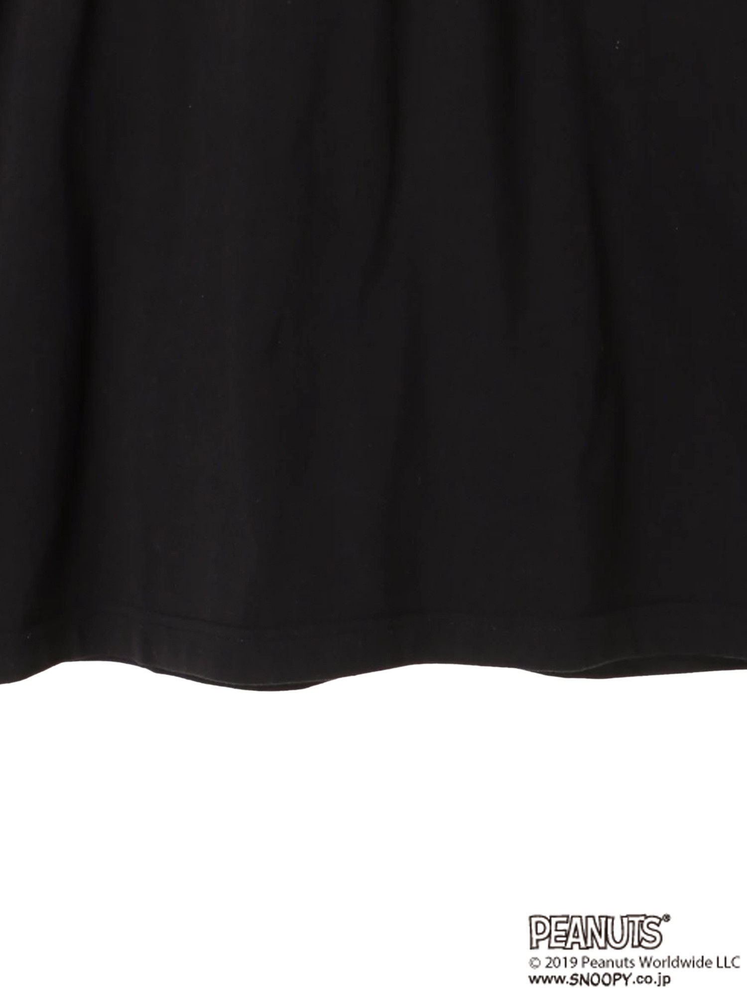 E-hyphen World Gallery Snoopy Oversized Tees - Black