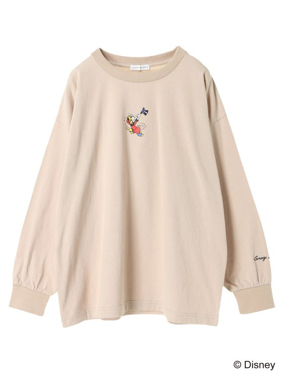 E-hyphen World Gallery Donald Duck Sweater - Beige
