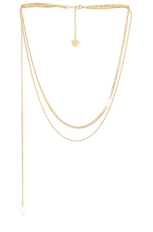 BRACHA Ivy Layered Pearl Necklace
