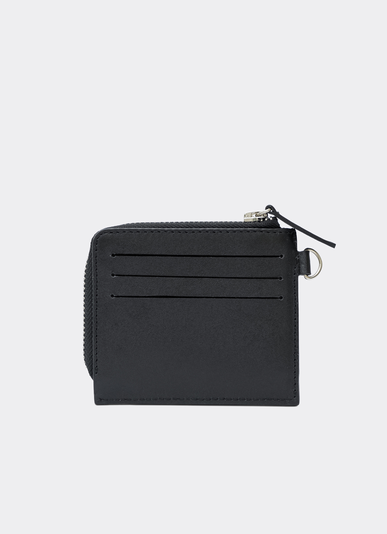 Aesthetic Pleasure Gauss Lanyard Card Wallet Black