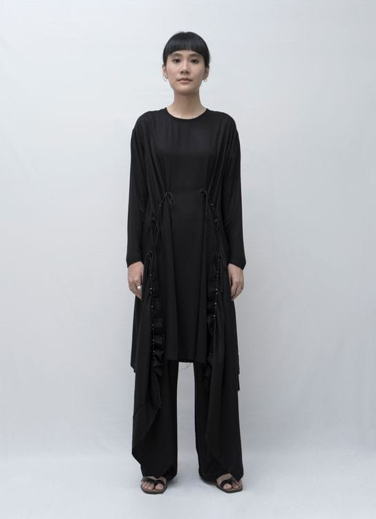 Aesthetic Pleasure Holy Dress Rayon Twill Black