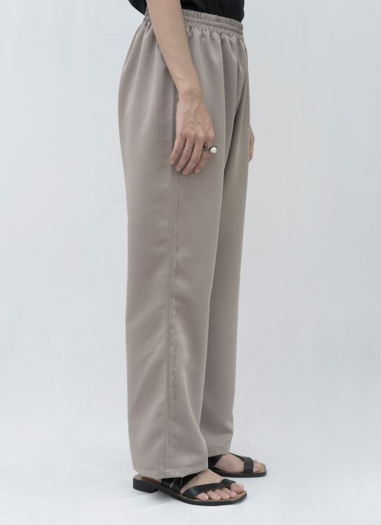 Aesthetic Pleasure Unfinished Pants Cream