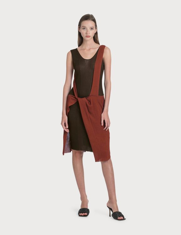Bottega Veneta Knit Dress With Knock